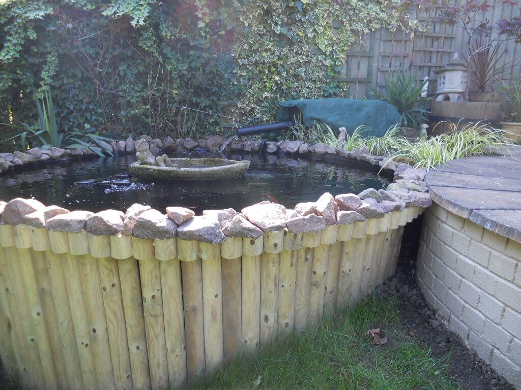 Raised Koi Pond Design Keith Bowler Pond Designs